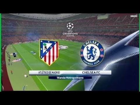 Atletico Madrid Vs Chelsea  |All Goals & Highlights|Uefa Champions League |Pes 2018 | FIFA 2018