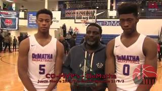 DeMatha was clicking on all cylinders in day one of the 2017 ARS Re...