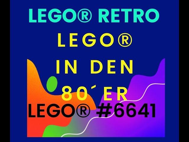 Lego Retro 6641 - Offroader Geländewagen