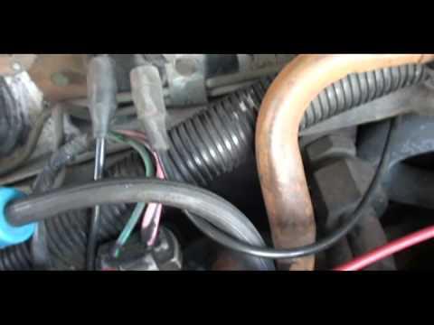 1996 Isuzu Trooper Engine Diagram Broken Vacuum Lines Youtube