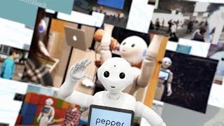 人とのコミュニケーションを通じて新しい接客体験を生み出すPepperが、...