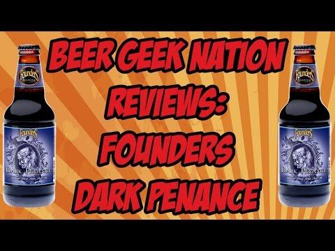 Founders Dark Penance Imperial Black IPA | Beer Geek Nation Craft Beer Reviews