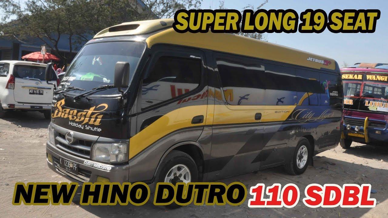 Mantap New Hino Dutro 110 Sdbl Super Long 19 Seat Panjang Banget Ya