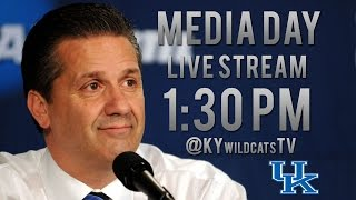 Kentucky Wildcats TV: Coach Calipari Media Day 2014