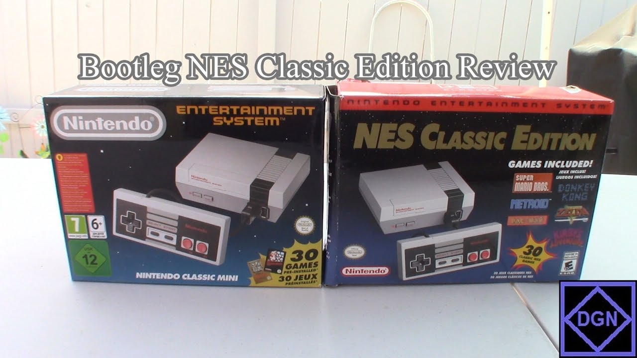 Bootleg Fake Nes Classic Edition Review Knockoff Clone Youtube