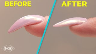 How to a Correct a Strong Curved Nail