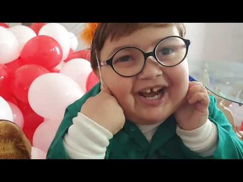cute ahmad shah new birthday video