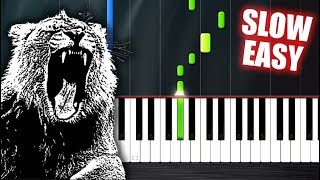 Martin Garrix - Animals - SLOW EASY Piano Tutorial by PlutaX Video