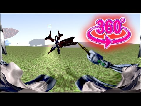 360 Degrees First Person VR Video | Archon Warriors 3D Fight Animation | First Perspective