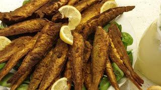 سمك مقلي مثل المطاعم مع سر القرمشة😍 وتتبيلة لديدة ولايتشرب الا قليل من الزيت