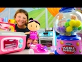 Pretend Play. Baby Doll and Kitchen Toys for Girls.