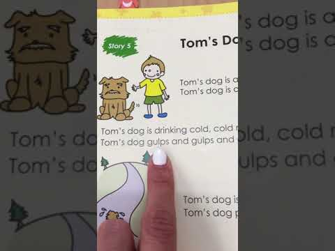 Fun Phonics Reader 1 Story 5 - Tom's Dog