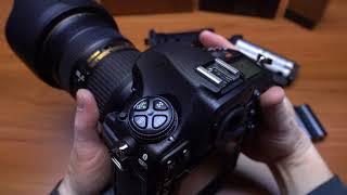 Nikon D850 MB-D18 battery grip - 7, 9 vs. 10 fps burst rate demo