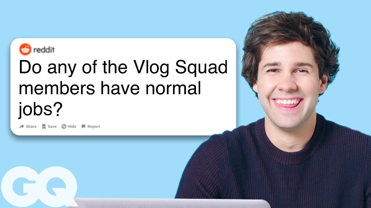 David Dobrik Goes Undercover on Reddit, YouTube and Twitter