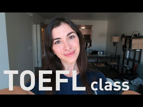 TOEFL Speaking and Writing part - online class!