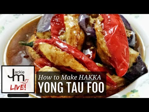 LIVE Replay - How to Make Hakka Yong Tau Foo