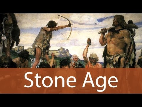 Stone Age Art History from Goodbye-Art Academy