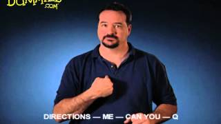 How to Sign Times and Directions in American Sign Language (ASL) - For Dummies
