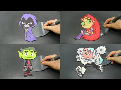 Teen Titans Go Raven and Beast Boy Costumes and Makeup! from YouTube · Duration:  6 minutes 31 seconds