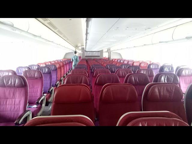 Coronavirus In China: The Sole Airplane Passenger On An Airbus Departing China