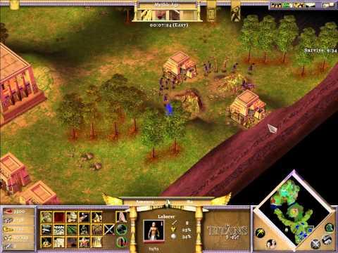 Age of Mythology: The Titans Speedrun M7 (14:37)