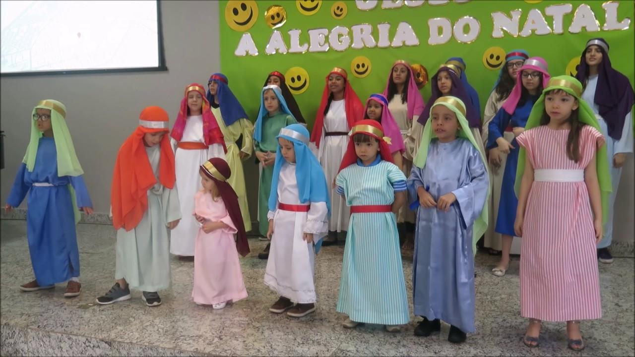 Cantata Jesus A Alegria Do Natal 11 12 2016 Youtube