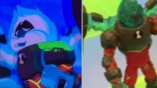 Ben 10 reboot Omni-Enhanced aliens in toys  vs cartoon