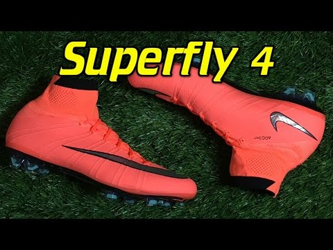 Nike Mercurial Superfly 4 Bright Mango (Metal Flash Pack) - Review + On Feet