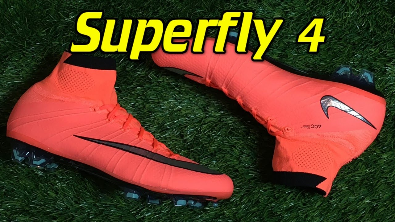 reputable site c528e c985b Nike Mercurial Superfly 4 Bright Mango (Metal Flash Pack) - Review + On Feet