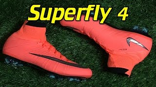 151d6b72257 Nike Mercurial Superfly 4 Bright Mango (Metal Flash Pack) - Review + On Feet  - Vloggest