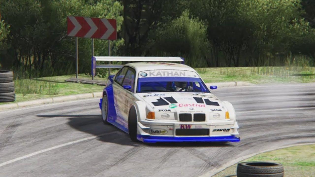 Bmw E36 V8 Judd Assetto Youtube