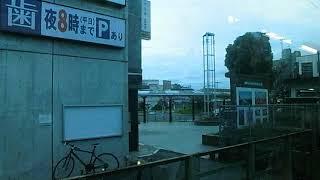 JR蓮田駅3番線期間限定発車メロディー(車内から撮影)