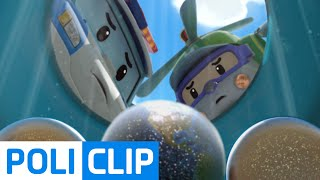 Take out Space Superball | Robocar Poli Clips