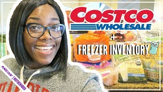 Costco Haul 2019 🛍️Shop with me while I stay UNDER BUDGET🎉   Freezer Inventory + FIVE BELOW