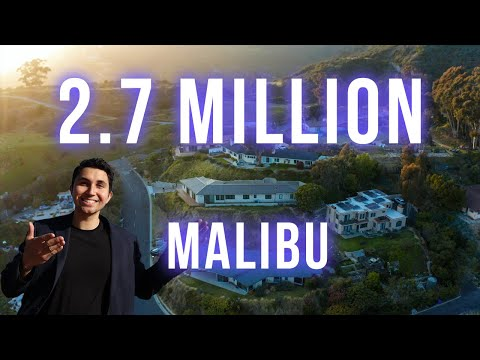 MALIBU OCEAN VIEW House Tour For Only $2.7 MILLION!