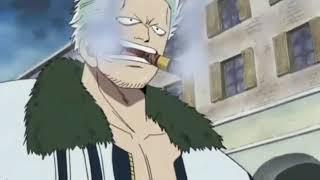 One piece - smoker sconfigge luffy ma dragon interviene