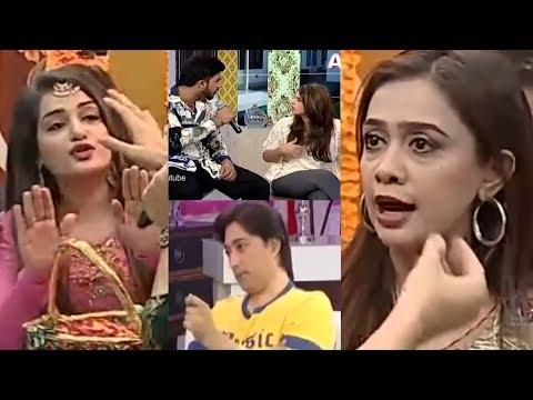 Best of Pakistani Morning shows fight on LIVE TV! | PakiXah