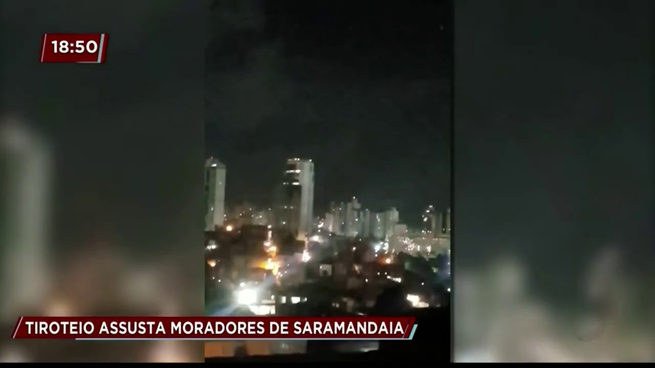 Tiroteio no bairro da Saramandaia assusta moradores - YouTube