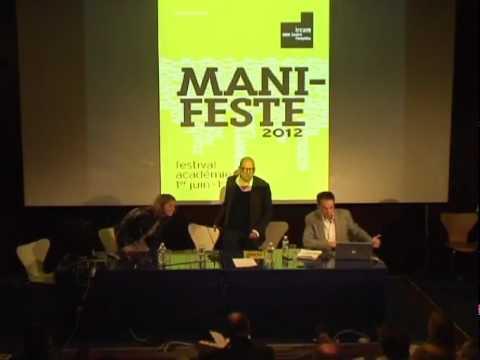 ManiFeste-2012, festival-académie. Conférence de presse, 11 avril, Ircam