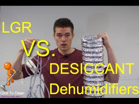 LGR VS Desiccant Dehumidifiers