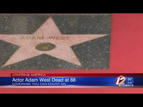 Actor Adam West dead at 88