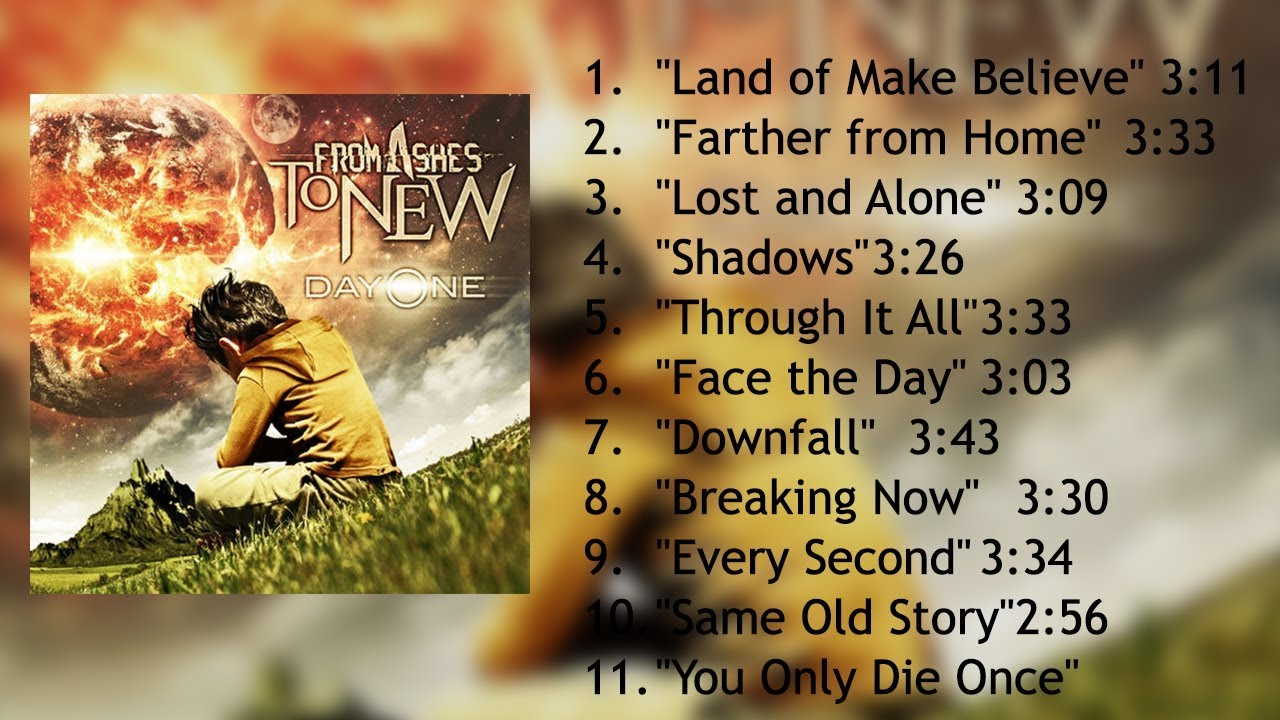 From Ashes to New - Day One ( Full Album )