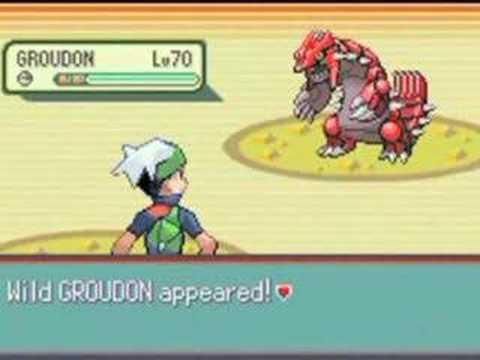 Pokemon ruby sapphire emerald kyogre groudon battle youtube - Pokemon saphir pokemon legendaire ...