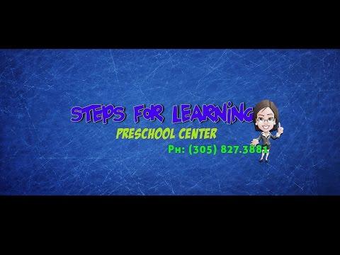 STEPS FOR LEARNING PRESCHOOL CENTER, DAY CARE EN HIALEAH 305.827.3881