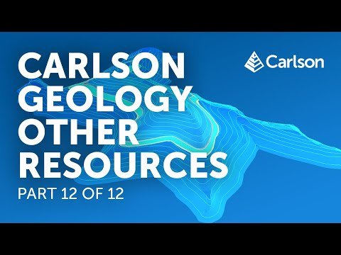 Carlson Geology | Other Resources (Part 12/12)
