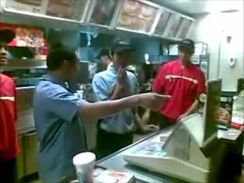 McDonalds Crew vs Manager