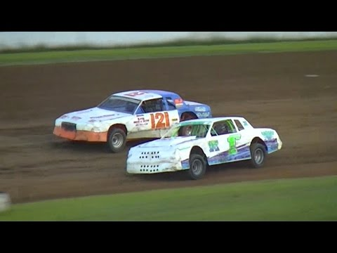 Pure Stock Heat One | McKean County Raceway | 8-18-16