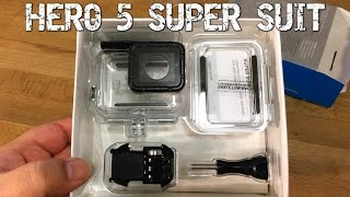 GoPro Hero 5 Black Super Suit | Installation, Unboxing and Review