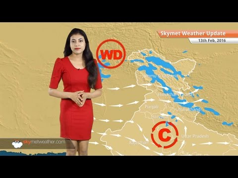 Weather Forecast for February 13: Rain and snow in Jammu and Kashmir, cold night in Delhi NCR