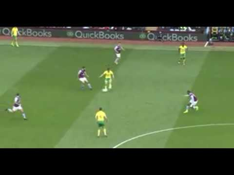 Aston Villa vs Norwich City || 2-0 || 1/4/17 || HD